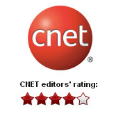 Cnet 4-star Rating