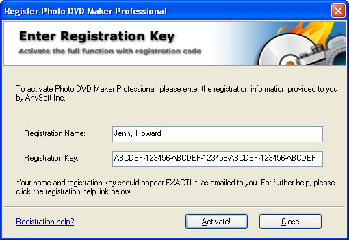 Photo DVD Maker Support Center - Faqs about order, registration and