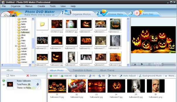 Halloween Photo DVD Slideshow - Created with Funny Halloween