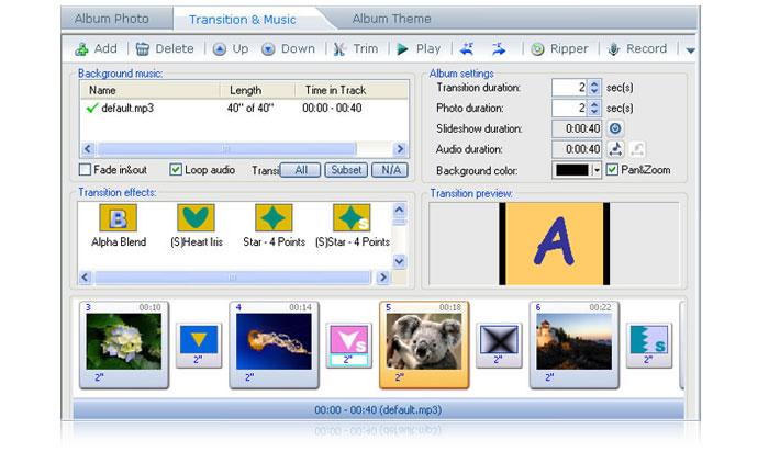Photo DVD Maker - create flash DVD slideshow & video slideshow